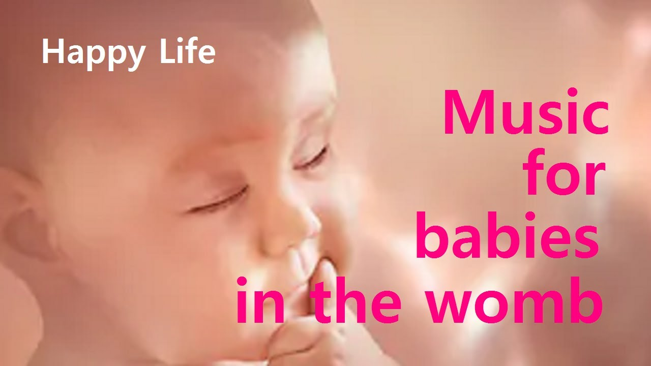 Music For The Fetus In The Womb Pregnancy Music For The Stability Of The Baby And Mother S Health Youtube