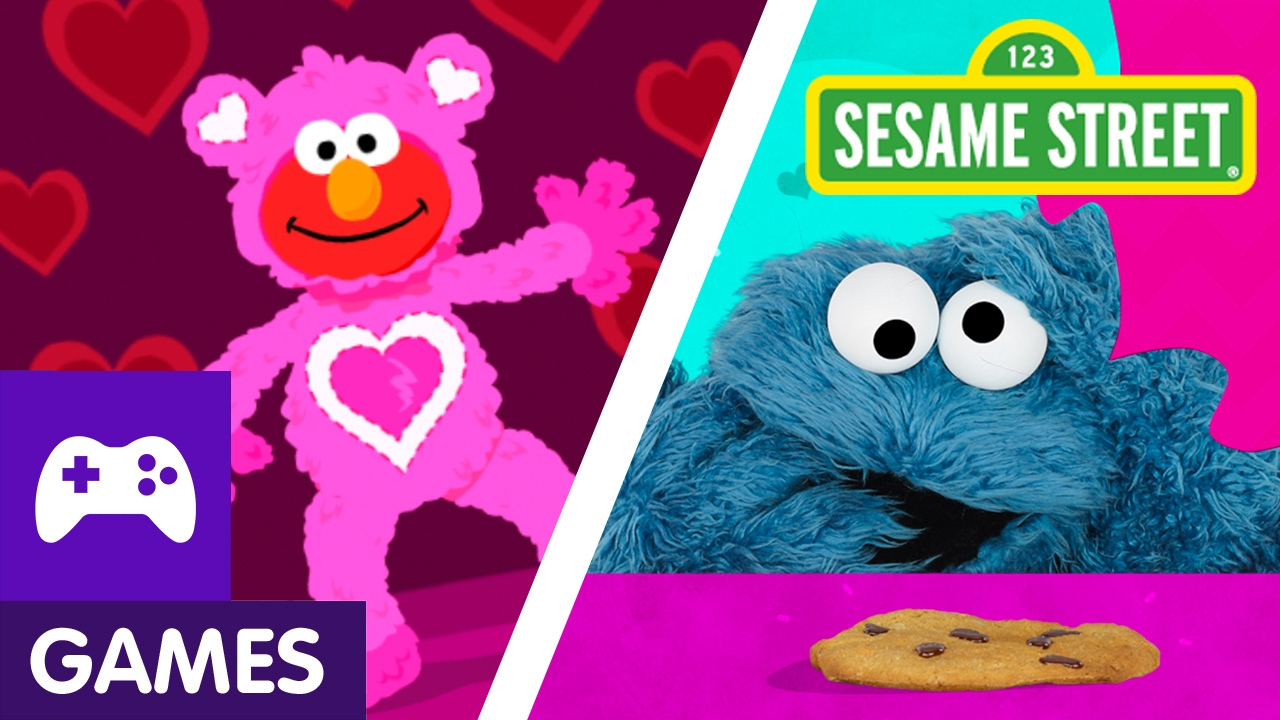 Sesame Street: Valentine's Day Games with Elmo and Abby ...