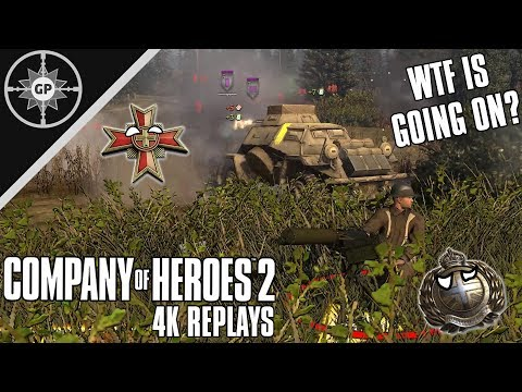When Trolls Take Command - Company of Heroes 2 4K Replays #118