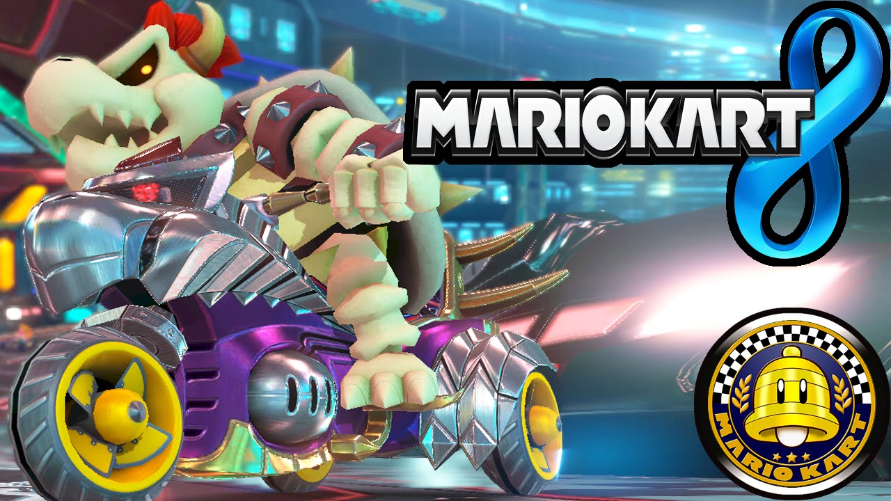 Mario Kart 8 Dlc Pack 2 Super Bell Cup Dry Bowser New Characters