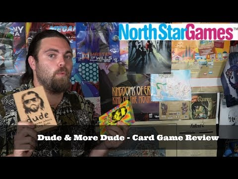 Dude & More Dude - Board Game Review