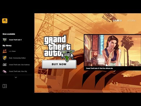Rockstar Games Launcher + GTA: San Andreas For FREE!