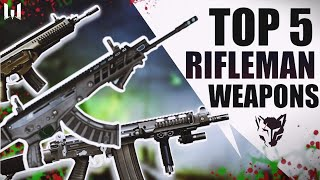 Warface TOP 5 Rifleman weapons
