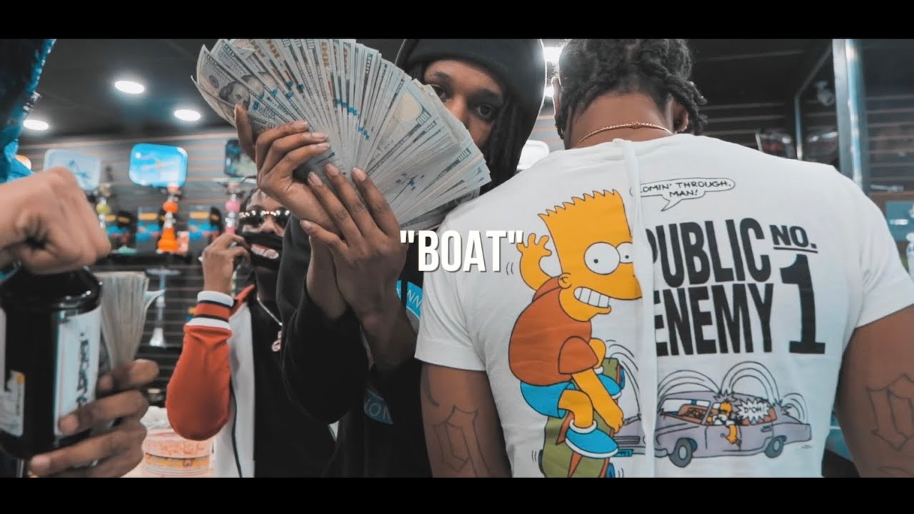 Lil Mello X 700 Cal - BOAT (OFFICIAL MUSIC VIDEO)