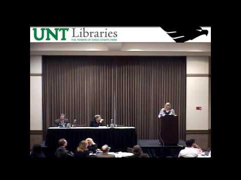 2012 UNT Open Access Symposium, Part 3