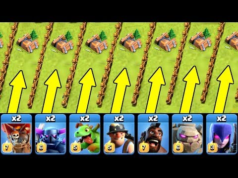 Thumbnail: SHRINK TRAP ROULETTE!! 🔥 Clash Of Clans 🔥 MINI CURSE CHALLENGE!