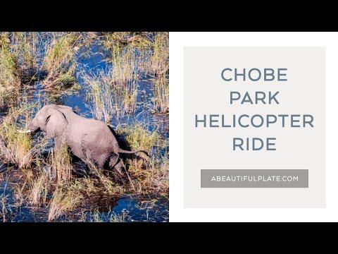Safari Helicopter Flight - Chobe National Park, Botswana