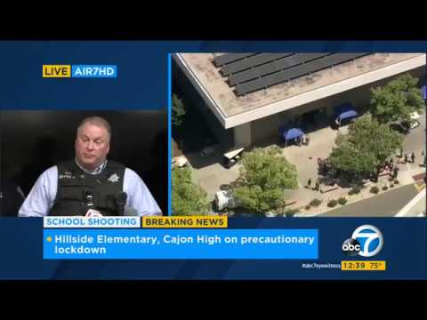 4.10.17 - ABC7 1230PM- North Park Elementary Shooting 1st Press Conference Pt  1