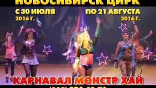 В Новосибирском цирке  КАРНАВАЛ МОНСТР ХАЙ