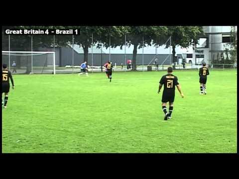 Great Britain vs Brazil 3rd place 2012 - second half