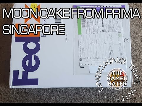 Unboxing Time: Moon Cake From Prima Singapore