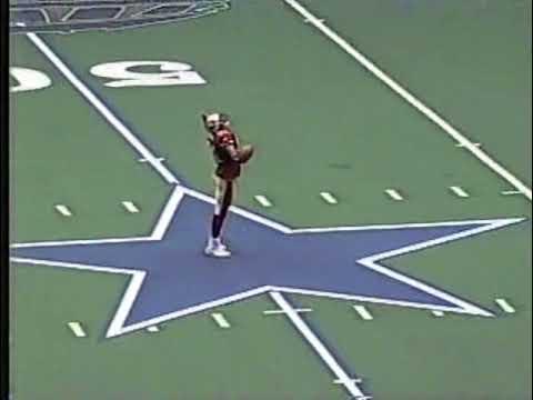Terrell Owens Celebration on Cowboy