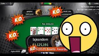 4 way all-in in the WCOOP 55$ KO $400k