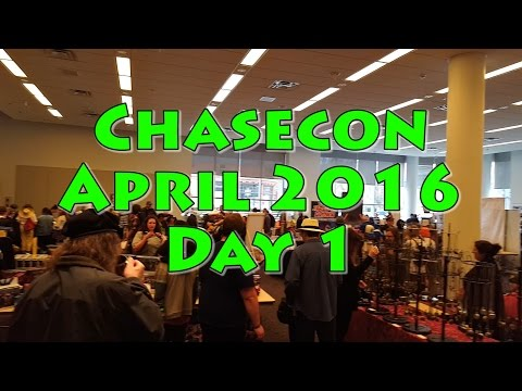 Chasecon 2016 Saturday Recap Vlog (60FPS)