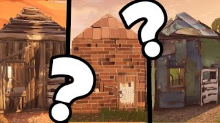 EASTER EGG THE HOUSE IN WOOD, STONE AND METAL ON FORTNITE BATTLE ROYAL!