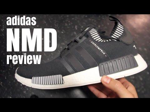 1e363a4ba0cf0 Adidas NMD PK  Dark Grey  In-Depth 1080p Review 2016 - YouTube