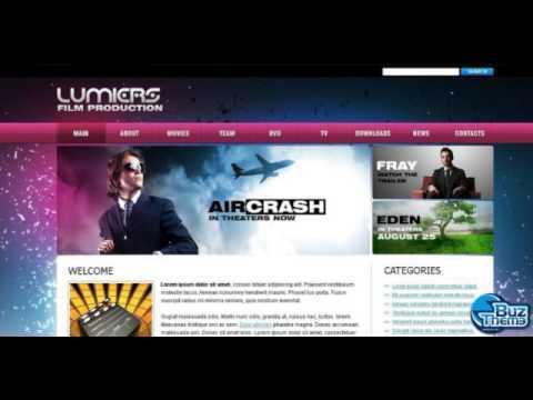 Download Movie WordPress Theme by Hugo WP-TM WordPress Themes - YouTube