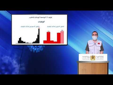 Vidéo- Bilan hebdomadaire- Covid19 au Maroc par le ministère de la santé