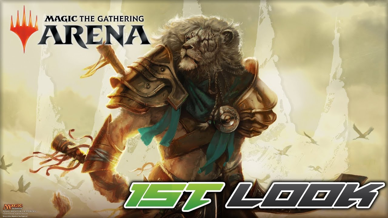 Magic: The Gathering Arena - First Look