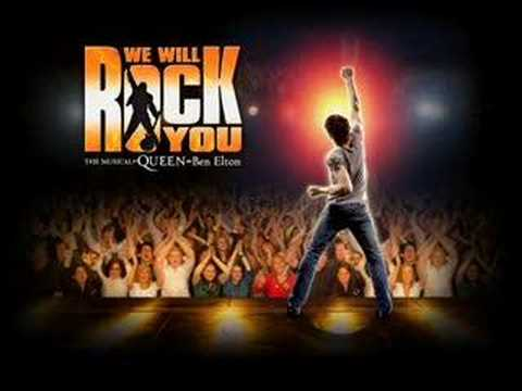 Musical - We Will Rock You ( Hammer to Fall )
