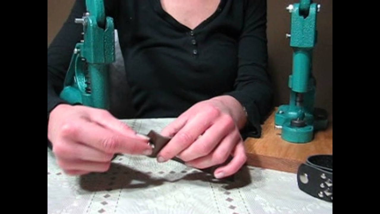 How To Set Snap Buttons Fasteners Poppers, DIY Easy Way To Set Snaps Using  Hand Press Machine