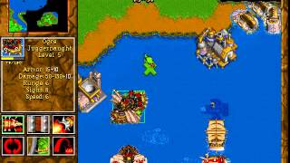 Warcraft 2: Battle.net Edition - прохождение последней миссии за орков