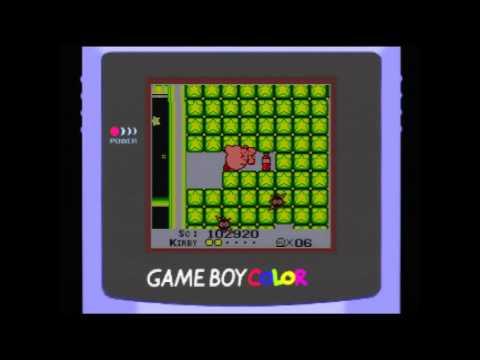 Gameboy Longplay: Kirby's Dreamland (Color)