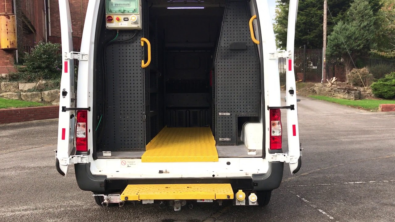 Ford Transit 2 4TDCi 100 T350m High roof [ Mobile Workshop+PTO Compressor  110v Inverter Generator ]