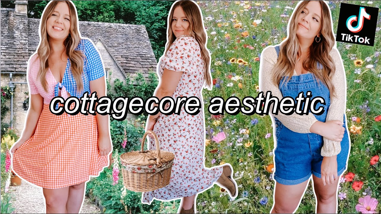 Download styling *COTTAGECORE* outfits from my own closet! (tiktok aesthetic) 🧚🏻♀️✨
