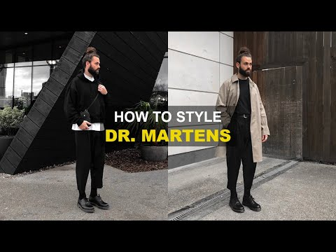HOW TO STYLE DR. MARTENS | Men's Fashion Lookbook 2020