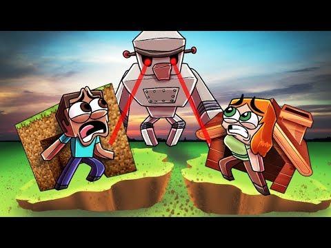 Minecraft | IRON GOLEM.EXE BASE CHALLENGE - Village is Attacked! (BETRAYED)