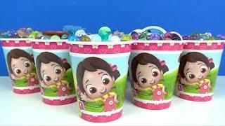 Niloya Orbeez Dolu Sürpriz Bardaklar Toybox Pepee Niloya Elsa Heidi Pamuk Prenses Canım Kardeşim