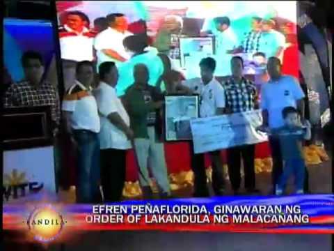 CNN hero receives Order of Lakandula