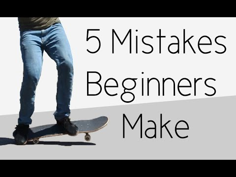 5 Mistakes Beginner Skaters Make