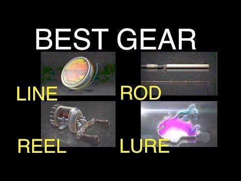 Final Fantasy Xv Best Fishing Gear Rod Reel Line And