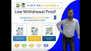 HITS.CASH Live Withdrawal Proff II Make Money Online with Hits.Cash II Urdu II Hindi II