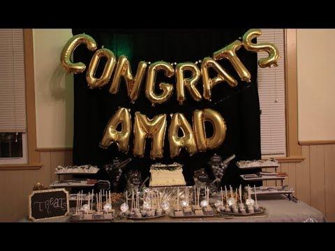 Amad Anderson celebrates his decision to go to Purdue University
