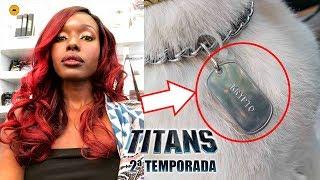 Titãs 2ª Temporada | ESTELAR FICOU LARANJA E KRIPTO APARECE! Titans Season 2 New Look Starfire