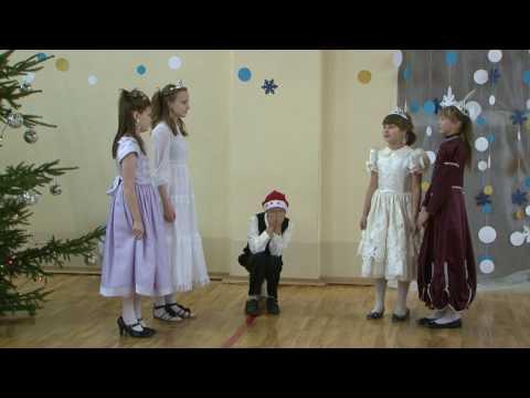 Rēzeknes Internātpamatskolā ieskandina Ziemassvētkus
