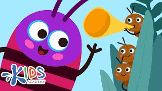 The Ants Go Marching + More Nursery Rhymes & Kids Songs | Kids Academy