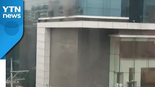 수원 인계동 호텔서 불...사망 1명·경상 2명 / Y…