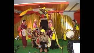 Janapada Nrutya - Dollu Hulivesha Veeragase - Kannada Rajyothsava 2012 - Shrigandha Kannada Balaga
