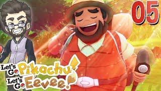 Cerulean Music SLAPS! Let's Play Pokemon Let's Go Pikachu & Let's Go Eevee w/ ShadyPenguinn [05]