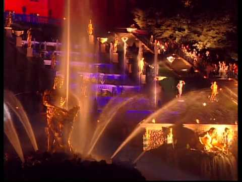 Праздник закрытия фонтанов Петергофа
