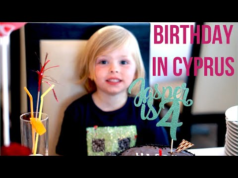 4TH BIRTHDAY IN CYPRUS | TRAVEL WITH KIDS