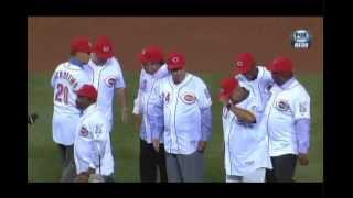 Cincinnati Reds Big Red Machine Reunion Great 8 Ceremony Sept 6 2013 FoxSports Download