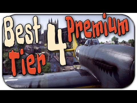 War Thunder | Best Tier 4 Premium Plane to buy | Tempest Mk V
