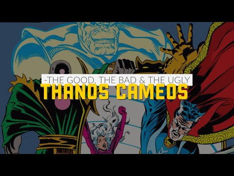 Thanos Appearances in Silver Surfer, Doctor Strange and the Fantastic Four