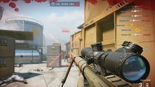 CRAZY Sniping on WARFACE (PS4)