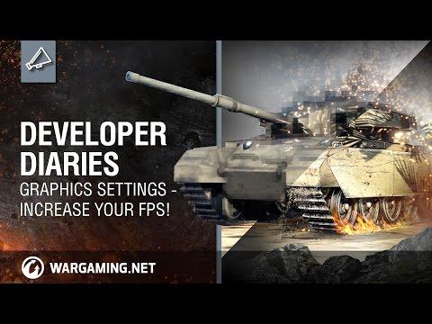Developer diaries graphics settings - Increase your FPS!